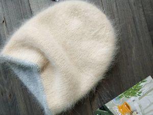 Шапка из пуха норки. Ярмарка Мастеров - ручная работа, handmade.