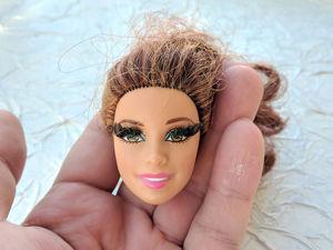 История одной головы Барби. Ярмарка Мастеров - ручная работа, handmade.
