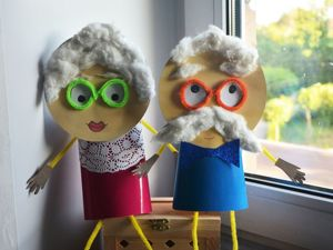 Бабушка и дедушка. Ярмарка Мастеров - ручная работа, handmade.
