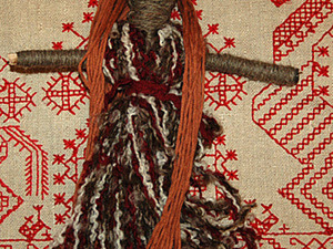 куколка Пятница с нитками. Ярмарка Мастеров - ручная работа, handmade.