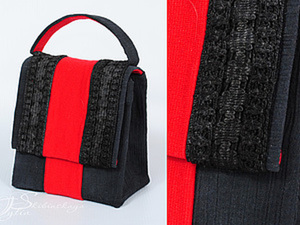 Старая туника плюс пакет от морса равно еще один вариант сумочки. Ярмарка Мастеров - ручная работа, handmade.