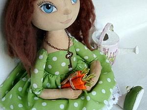 Осенние аксессуары для девочки в платье в горошек (посвещенно тематической неделе «Милый горошек»). Ярмарка Мастеров - ручная работа, handmade.