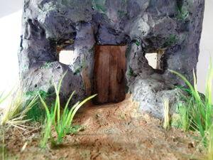 Создание макета  «Дом в скале»  в масштабе 1:35. Часть 1. Ярмарка Мастеров - ручная работа, handmade.
