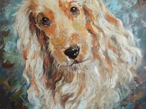 Пишем маслом этюд «Печальный пес». Ярмарка Мастеров - ручная работа, handmade.