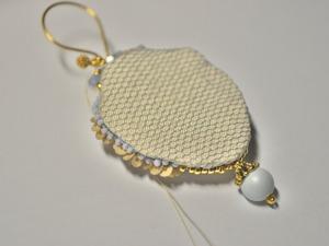 Делаем текстильную изнанку в украшениях. Ярмарка Мастеров - ручная работа, handmade.