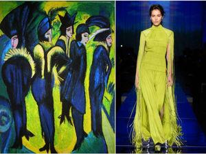 Искусство в квадрате: образы Недели высокой моды в Париже и картины знаменитых художников. Ярмарка Мастеров - ручная работа, handmade.