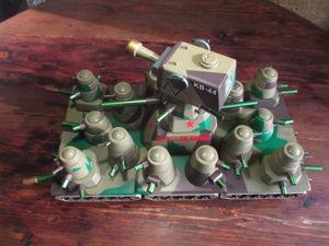 КВ-44 —  «Камуфляж». Ярмарка Мастеров - ручная работа, handmade.
