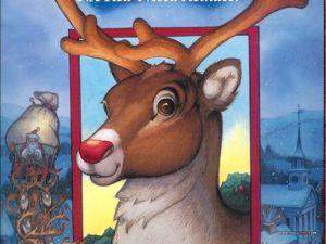 Новогодняя сказка про Санту и преимущества красного носа. Ярмарка Мастеров - ручная работа, handmade.
