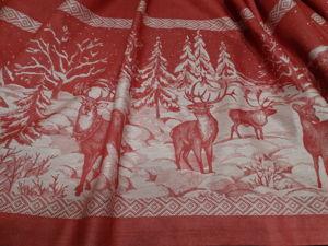 Новогоднее столовое белье. Ярмарка Мастеров - ручная работа, handmade.