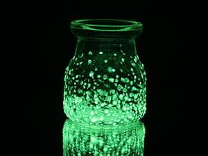"""Пример использования люминесцентной краски - """"Декорирование стеклянной банки"""". Ярмарка Мастеров - ручная работа, handmade."""