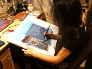 Очарование работ современной художницы Динары Нуримовой. Ярмарка Мастеров - ручная работа, handmade.
