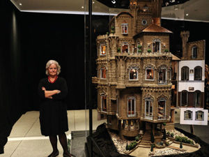 The Famous Multi Expensive and Gorgeous Astolat Dollhouse. Livemaster - handmade