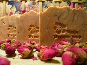 Соляное с Розовой глиной, каолином, экстрактами Лотоса и Мальвы. Ярмарка Мастеров - ручная работа, handmade.