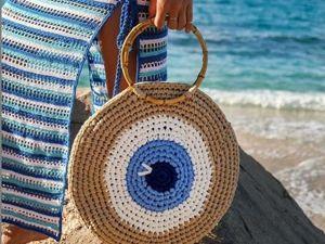 Большие и вместительные пляжные сумки крючком — идеи для вязания и вдохновения. Ярмарка Мастеров - ручная работа, handmade.