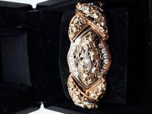 Видео золотого браслета ручной работы. Ярмарка Мастеров - ручная работа, handmade.