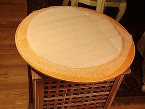 Мастерим поворотный стол для раскладки шерсти на шаблоне. Ярмарка Мастеров - ручная работа, handmade.