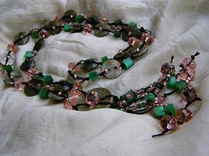 Делаем ожерелье из пуговиц - нет предела фантазии. Ярмарка Мастеров - ручная работа, handmade.