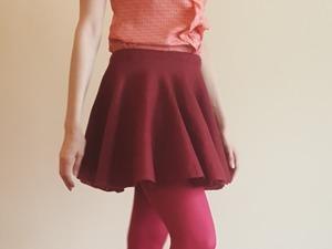 Юбка супер-солнце, или Если хочется очень пышную юбку. Ярмарка Мастеров - ручная работа, handmade.