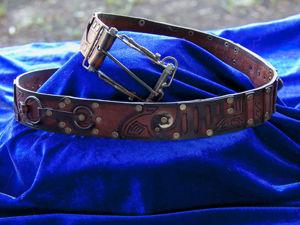 Стимпанк распоясался-2! Ремни и пояса в стиле стимпанк от нашей мастерской. Ярмарка Мастеров - ручная работа, handmade.