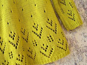 Новинка — ажурный пуловер из органического хлопка!. Ярмарка Мастеров - ручная работа, handmade.