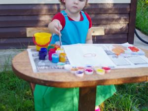 Детям — радость, родителям — отдых! Или фартук как защита от стресса :). Ярмарка Мастеров - ручная работа, handmade.