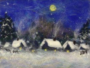 Зима — зимою, летом — лето! Новая картина. Ярмарка Мастеров - ручная работа, handmade.