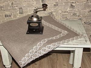 Салфетки льняные. Ярмарка Мастеров - ручная работа, handmade.