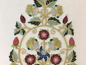 ''17th Century Gentleman's Cap''  Embroidery Kit by Alison Cole. Livemaster - handmade