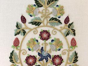 Набор для вышивки Alison Cole «17th Century Gentleman's Cap». Ярмарка Мастеров - ручная работа, handmade.