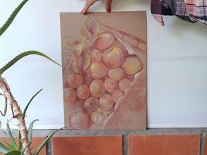 Рисунки с хурмой. Ярмарка Мастеров - ручная работа, handmade.