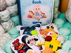 Книга для малышей. Ярмарка Мастеров - ручная работа, handmade.