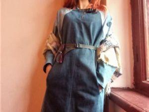 Новое платье Upcycling. Ярмарка Мастеров - ручная работа, handmade.