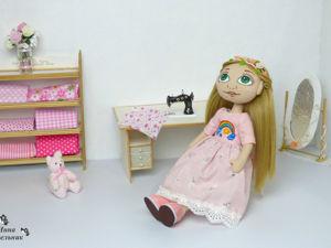 Текстильные куклы. Ярмарка Мастеров - ручная работа, handmade.