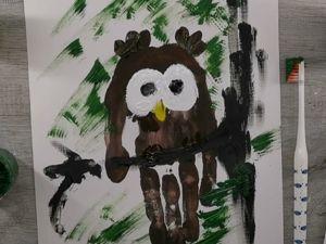 Как нарисовать сову. Ярмарка Мастеров - ручная работа, handmade.