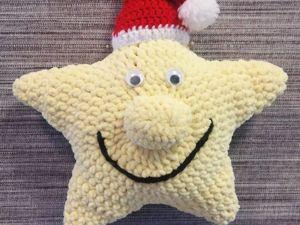 Мастер-класс: мягкая игрушка «Рождественская звезда». Ярмарка Мастеров - ручная работа, handmade.