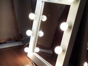 Зеркало гримерное изготовим. Ярмарка Мастеров - ручная работа, handmade.
