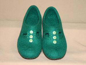 Аукцион на три пары валяной обуви. Ярмарка Мастеров - ручная работа, handmade.