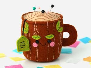 Позитив в каждой чашке: очаровательные работы Hannah Boulter. Ярмарка Мастеров - ручная работа, handmade.