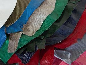 Цветные шкуры варанов Италия. Ярмарка Мастеров - ручная работа, handmade.