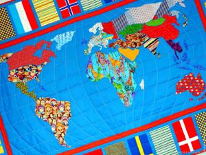 Этот лоскутный, лоскутный, лоскутный мир:) Покрывала пэчворк на заказ!. Ярмарка Мастеров - ручная работа, handmade.