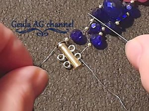 Как соединить застежку-слайдер с браслетом. Ярмарка Мастеров - ручная работа, handmade.