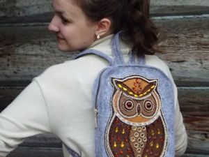 Шьем рюкзачок для молодой девушки. Ярмарка Мастеров - ручная работа, handmade.