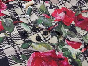 Плательная ткань из шерсти и шелка. Ярмарка Мастеров - ручная работа, handmade.