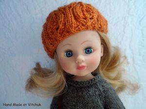 Гардероб для куклы. Наряд с лисой. Ярмарка Мастеров - ручная работа, handmade.