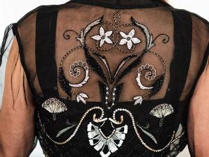 Один из страхов: вышивка на одежде. Ярмарка Мастеров - ручная работа, handmade.