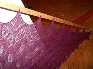 Как сделать раму для блокировки шалей. Ярмарка Мастеров - ручная работа, handmade.