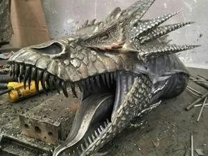 Ковка  дракона. Ярмарка Мастеров - ручная работа, handmade.