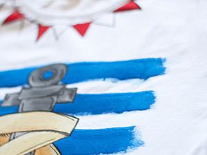 Мастер-класс по росписи футболки!. Ярмарка Мастеров - ручная работа, handmade.