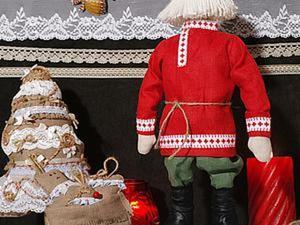 Шьем рубаху для Деда Мороза. Ярмарка Мастеров - ручная работа, handmade.