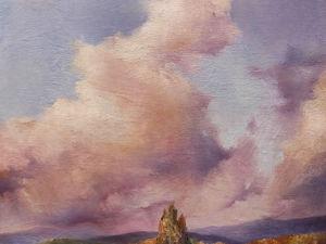Мастер-класс по масляной живописи «Перед грозой». Рисуем облака. Ярмарка Мастеров - ручная работа, handmade.